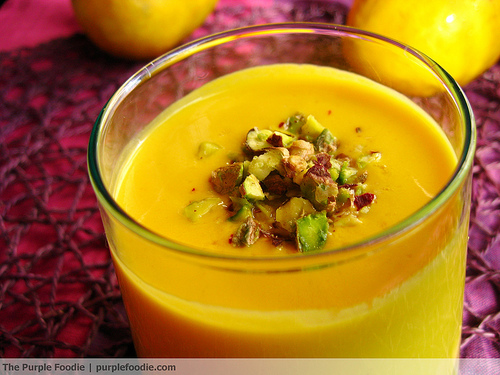 Mango Lassi • Purple Foodie