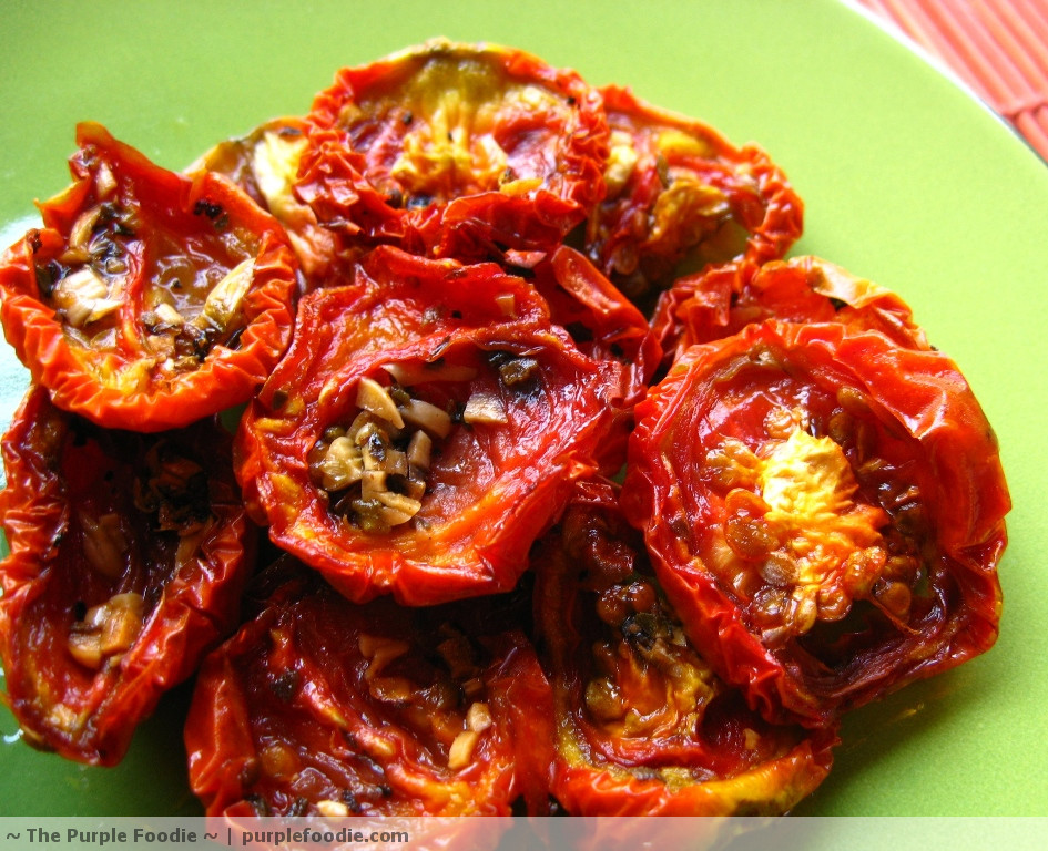 Sun Dried Tomatoes Recipe — Dishmaps
