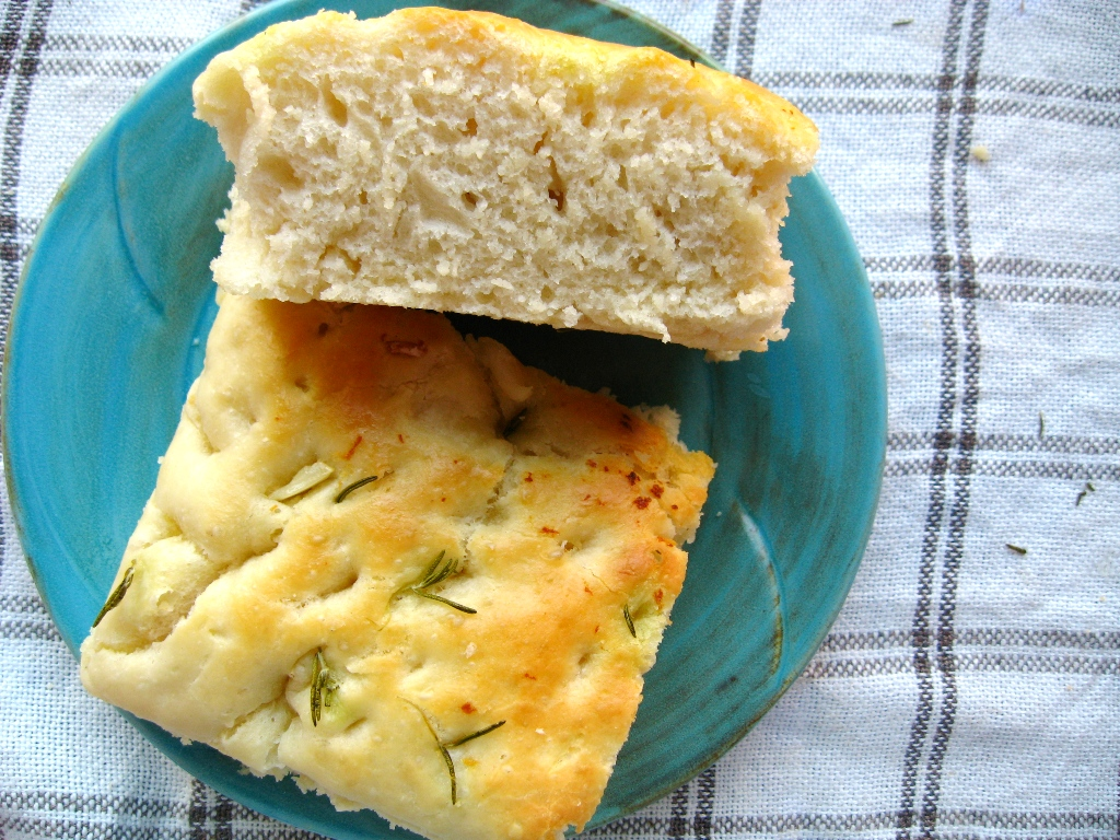 Rosemary and Garlic Oil Focaccia