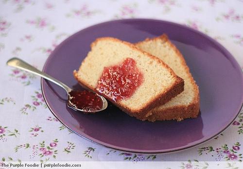 Tahitian Vanilla Cake