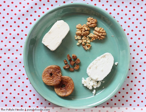 Honey, Walnut and Fig Cheese Spread