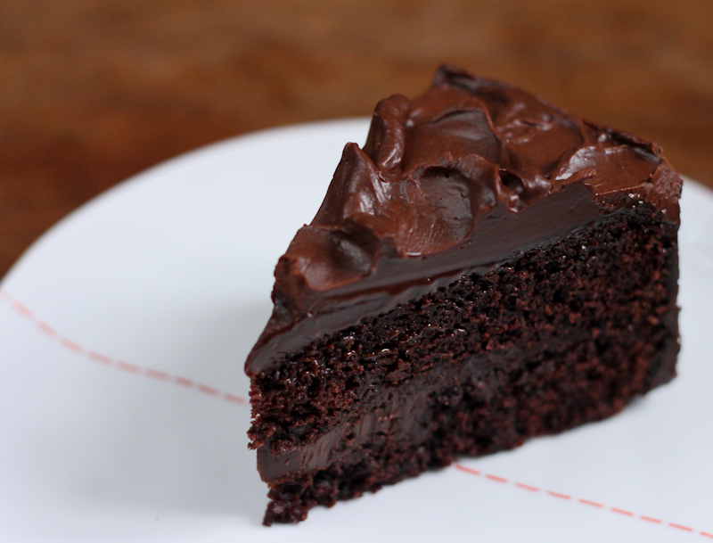 Simple Eggless Chocolate Cake Recipe