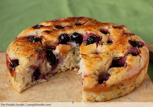 Rosemary and Grape Focaccia