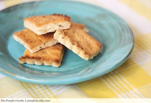 Buttery Lavender Shortbread