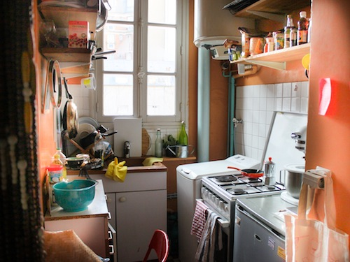 My orange kitchen