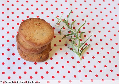 Rosemary, Walnut and Brown Sugar Cookies • Purple Foodie