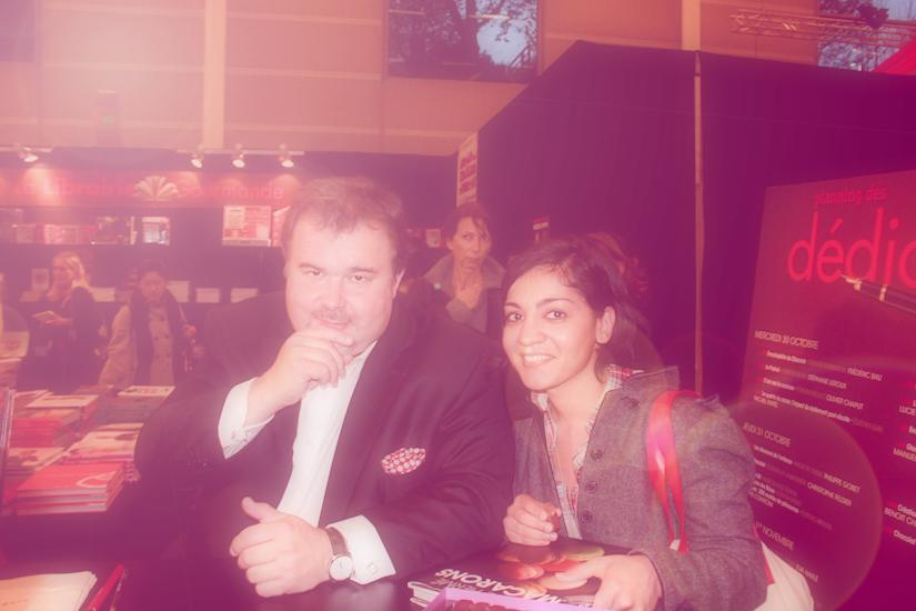 Shaheen Peerbhai with Pierre Hermé