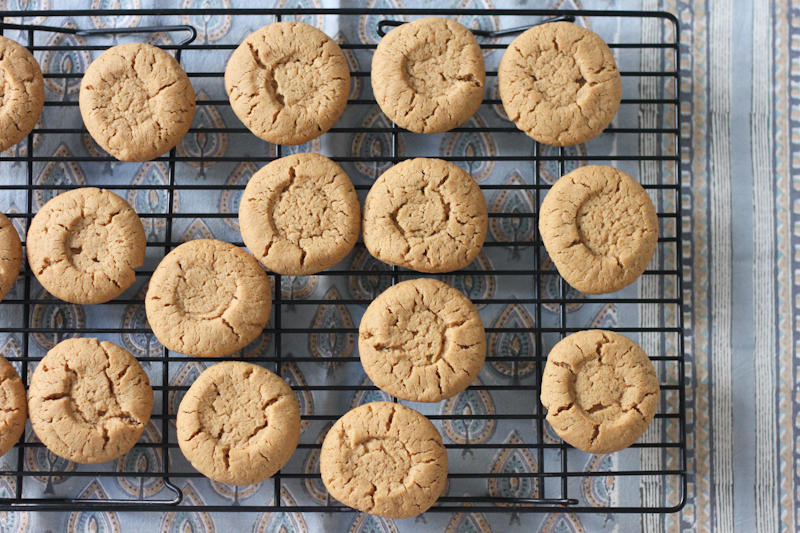 Hazelnut butter biscuits