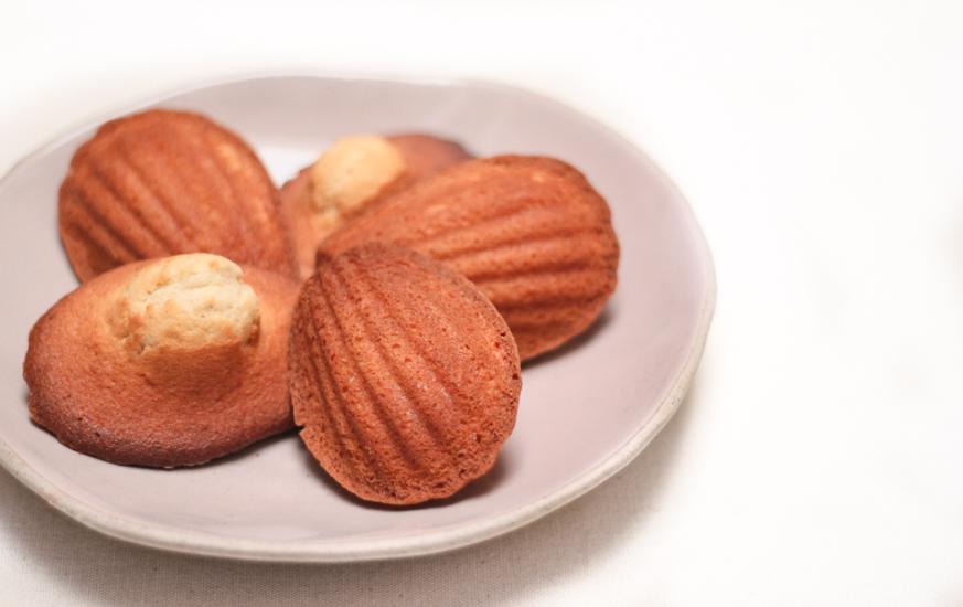 Vanilla Brown Butter Madeleines • Purple Foodie